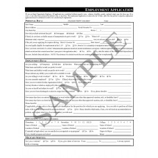 Employment Application (English)