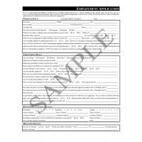 Employment Application (English)